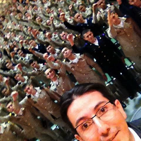 Conferencia en Academia Militar