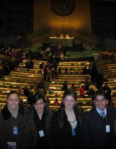 LIVH en la ONU
